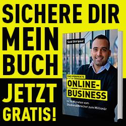 """Said Shiripour verschenkt sein neues Buch """"Das perfekte Online-Business"""""""