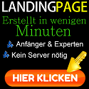 Landing Pages in wenigen Minuten