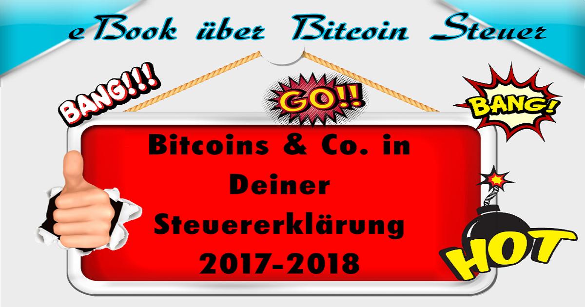 Bitcoin Steuer – eBook vom Steuerberater