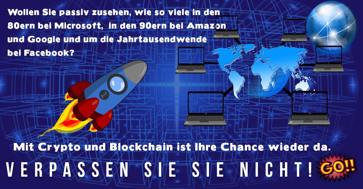 Blockchain-Cryptowährungen