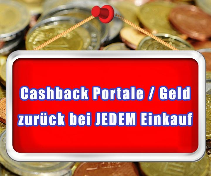 Cashback für mehr Geld